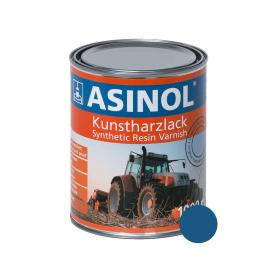 Dose mit blauer Farbe für Gruse RAL 5019