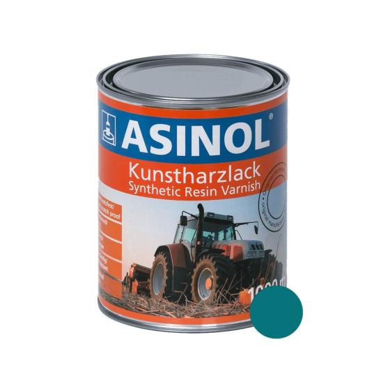 Dose mit blauer Farbe für OMC Melkmaschinen RAL 5021