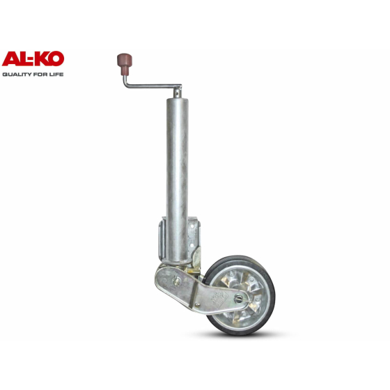 Fully automatic support wheel from the AL-KO company for a load capacity of up to 500 kg.