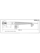 Zinken für Frontlader - 980mm lang - Schwerlast