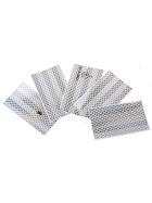 Reflective tape 3M Diamond Grade high reflective tape silver, self-adhesive 55 x159mm