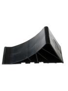 Wheel chock size 20 - black plastic - TÜV approved - 800kg wheel load