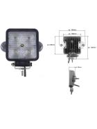LED work light 5 x 3 Watt High-performance LED up to approx. 1,150 lumen