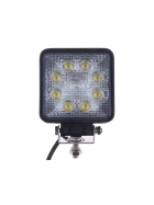 LED work light 8 x 3 Watt High-power LED up to approx. 1,600 lumen