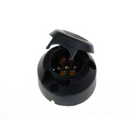 7 polige Steckdose - Kunststoff 12V