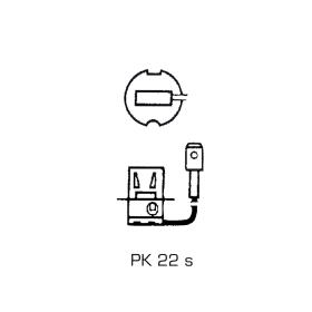 Halogen headlight bulb H3 12 Volt - 55 Watt