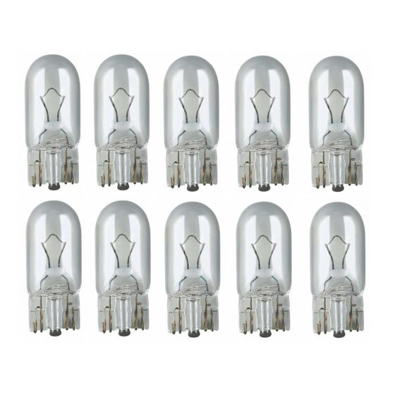 Glass base lamps 12 Volt 5 Watt - W 2.1 x 9.5 d