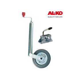 ALKO support wheel 150kg with a suitable clamp.