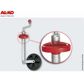 AL-KO manoeuvring aid for support wheels with a 48 mm...