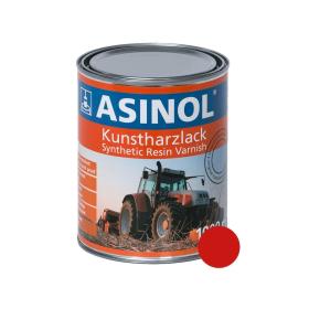 Dose mit roter Farbe für O&K Bagger RAL 3020