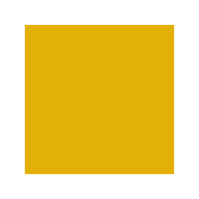 Box with core-yellow colour RAL 1004