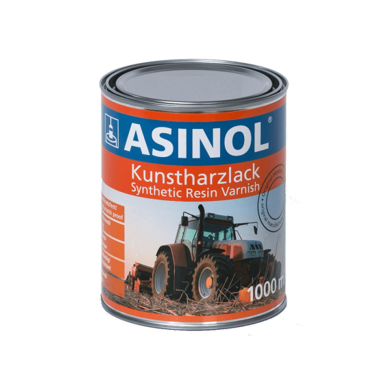 Can with blue paint for Hanomag LM 6389