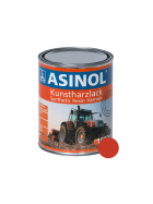 Dose mit hako-roter Farbe RAL 2002