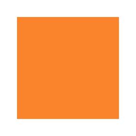 Box with jost-orange colour RAL 2003