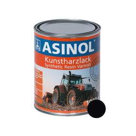 Dose mit caterpillar-schwarzer Farbe RAL 9005