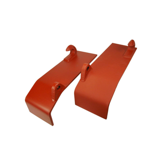 Coupling plates Coupling hooks on plate for Euro mounting Quick-change frame