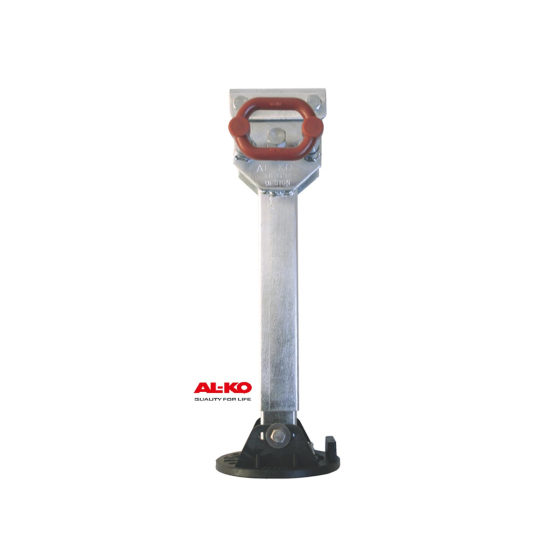 AL-KO support leg 500kg swivels to one side (grid 6x30°) Ground clearance 550-650 mm