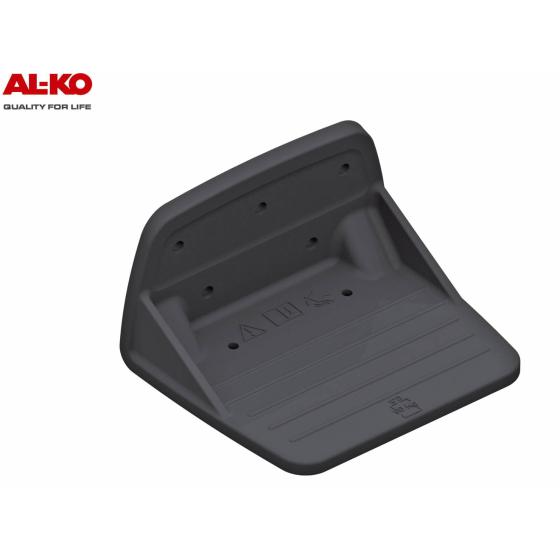Kunststoff Aufstiegshilfe von der Firma AL-KO mit einer Tragkraft von 90 kg für PKW-Anhänger.