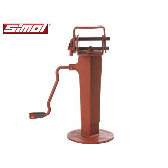 Simol Stützfuss mit 6000 kg Traglast klappbar.