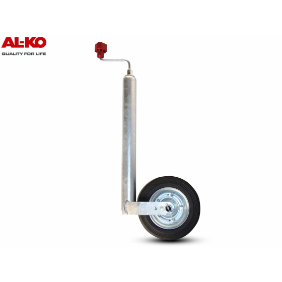 ALKO support wheel 150kg load capacity with 48mm diameter for trailers and caravans
