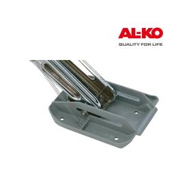 4 graue BIG FOOT Kunststoff Abstützfüße für ALKO...