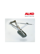 AL-KO support foot BIG-FOOT - 4pcs. packed completely in KT for push-fit supports - Stabilform and PREMIUM