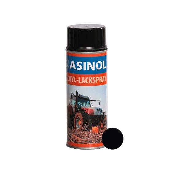 Dose mit teerschwarzer Farbe RAL 9021 stumpfmatt