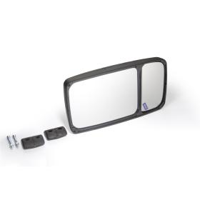 Panorama-Außenspiegel 2-teilig   33,0x18,5 cm...