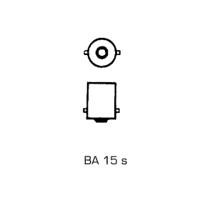 Spherical bulbs 12 Volt/5 Watt - BA 15s