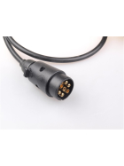Extension cable - adapter cable 1.0 meter 7 to 13 pin, 12V