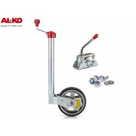 ALKO Premium Stützrad inkl. Radlastanzeige 180 kg mit...
