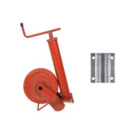 Simol Stützrad Stützfuß Anhänger 1000 kg halbautomatisch Federverriegelung