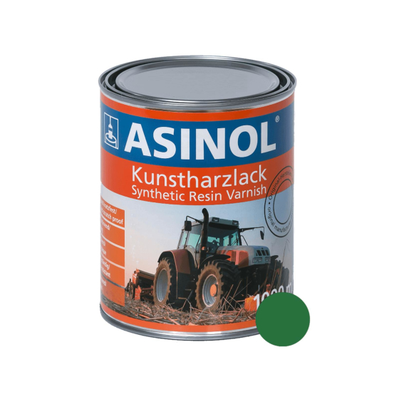 Dose mit agria grüner Farbe RAL 6001