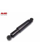 schwarze AL-KO Octagon Plus Achsstoßdämpfer für PKW Anhänger  bis 4.000kg Einzelachse und bis 7500kg Tandemachse.