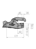 AL-KO AK 301 Profi V Typ mit Soft-Dock - gebremste Anhänger bis 3.000kg