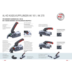 AL-KO AK 161 trailer coupling for braked trailers up to...