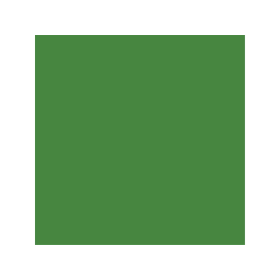 Dose mit grüner Farbe für Lang RAL 6017