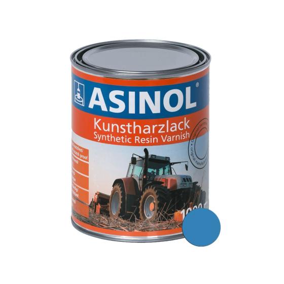 Dose mit blauer Farbe für Tigges RAL 5012