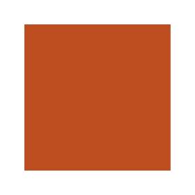 Dose mit oranger Farbe für Terex-Schaeff RAL 2001