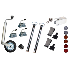 19-piece car trailer accessory package