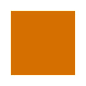 Dose mit oranger Farbe für MB Trac RAL 2000