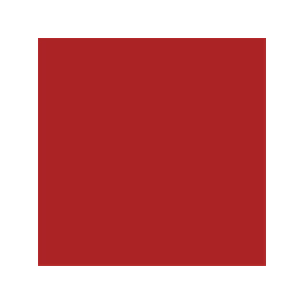 Dose mit roter Farbe für MB Trac RAL 3000