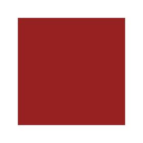 Dose mit allgaier-roter Farbe RAL 3002