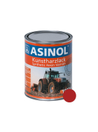 Can with red paint for Porsche RAL 3000