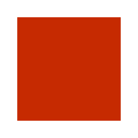 Tin with red colour for seed LM 0237