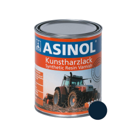 Tin with blue colour for seed LM 0231