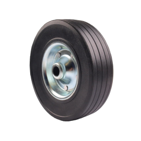 Trailer support wheel 220 x 60 mm with solid rubber wheel...