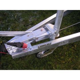 AL-KO support wheel bracket for AL-KO overrun brake