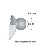 Unterlenker Fangprofil Kat. 2-2