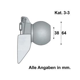 Unterlenker Fangprofil Kat. 3-3